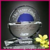 fashionable engraved crystal awards