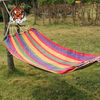 Stripe canvas hammock