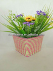 Paper Twine Flower Pot And Pen Container