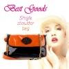Best Goods Free shipping New Arrival Fashion OL lady women Rose PU Envelop bag Clutch shoulder hand bags tote elegant bag