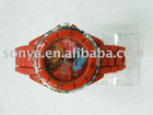 soft silicone rubber watch