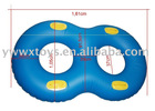 double-person inflatable swim ring