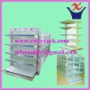 Wire/Net Supermarket Shelves/Racking with double and single sides