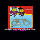 Kid's Metal Handcuff Toy With Key