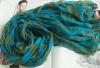 ladies fashion style bule Modal scarf