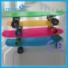 2012 New Style plastic mini skateboard