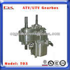 Five speed transmission gear box