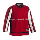 make your own logo blank style professional training polyester team ice hockey jerseys for kids/adult,sports jerseys