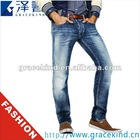 2012 Latest Design Skinny Brand Logo Designer Vogue Jeans, Jeans Stylish Pants, Men Models Jeans Pants(GKC0712)
