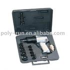 "Pneumatic Air Tools 15pcs 1/2"" Air Impact Wrench Kit WT-5044K"