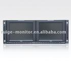"RUIGE Professional 8.4""dual rack mount LCD monitor"