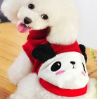 Pet Chirstmas Red Clothing/Made in China/Love Pet Apperal
