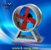 low noise wall-style blower/axail fan