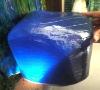 Dark blue light crystal glass mosaic mixture free stone
