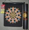 roll up felt magnetic dartboard