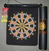 roll up felt magnetic dartboard