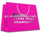 Customized plastic PP gift bags manufacturer