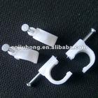 Nail Circle Cable Clip