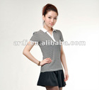 new fashion short sleeve girls ladies polo shirt