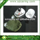 Aluminum water cateen 1L& lunch box, military cateen