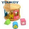 educational wooden block baby toys