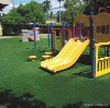 Playground green artificial grass