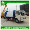 DFAC 4X2 Compressure Garbage Truck 3 m3 ~ 5 m3