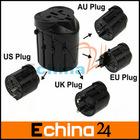 Universal World Travel Charger Plug Adaptor + USB port