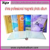 2012 China Professional spiral bound Magnetic Photo Album (8x10)