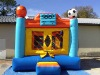 Sport inflatable bouncy castle for fun