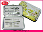 manicure set IN PRINTED PU