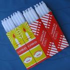 40g 8pcs per box packing white wax candle box