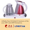 1.7L Red Luxurious electric kettle set /tea maker