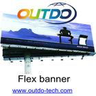 Flex banner for solvent printer