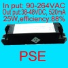 520mA LED driver power 25W 38V-48V PSE authentication