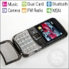 Metal Shell Cell Phone Mobile MP3 Touch Screen Dual Card