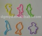 animal shape rubber band