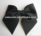 Fashion black satin hair bowknot for dressing