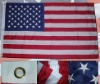 210D 5x8ft Nylon Embroidery USA flag