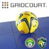Grid Court Indoor Football Field Flooring