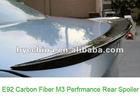 Carbon Fiber Trunk Spoiler, Performance Carbon Fiber Spoiler for BMW E92