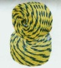3 strands twist PE tiger rope