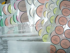 Pre-cut round paper labels,cosmetics stickers ,attactive price