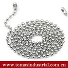 Customized stainless steel ball chain necklace jewelry