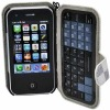 T2000 WiFi Cellphone with Quadband twirl Portable QWERTY Keypad and leather sheath