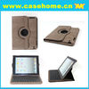 for ipad3 Tablet PC 360 degree rotating case for iPad3 case keyboard with stylish leather case