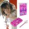 2012 Pink star newest design silicone ice cube tray