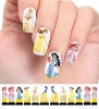 snow white nail stickers