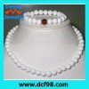 beads jewel necklace bracelet,pearl necklace sets