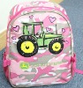 2012 lastest design fashion daily bag for climbing cycling camping bag pink backpack girls school bag